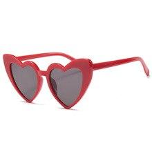 d heart shape sun glasses for women