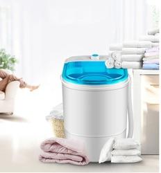 free shipping washing machine semi-automatic washing machine single-barrel washer 2KG Top Open Type Prevent winding wave wheel
