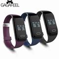 Monitor de freqüência cardíaca do smart watch homens mulheres bluetooth inteligentes relógios para android ios saúde sono monitor de rastreador de fitness à prova d' água