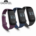 Monitor del ritmo cardíaco de smart watch hombres mujeres relojes inteligentes bluetooth para android ios health tracker impermeable monitor de sueño