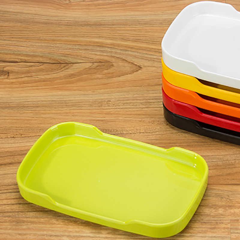Корейский Ресторан жаркое пластины красочные еда контейнеры прямоугольник лоток для овощей кафетерий Кухня Посуда Рождество Посуда