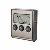 MOSEKO цифровой термометр для духовки Кухня Еда Пособия по кулинарии мясо барбекю зонд термометр с таймером воды, молока Температура Пособия по кулинарии инструменты