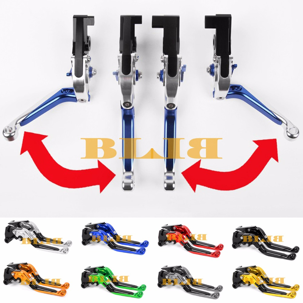 For Yamaha DT 50 (3MN) 1989-1997 CNC Motorcycle Foldable Extending/170mm Brake Clutch Levers Moto Lever 1990 1991 1992 1993 1994 6 colors cnc adjustable motorcycle brake clutch levers for yamaha yzf r6 yzfr6 1999 2004 2005 2016 2017 logo yzf r6 lever