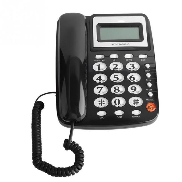 FSKDTMF Chamador ID 24 Ringtone Telefone Fixo Telefone Telefone Do Escritório Home Hotel 2018 novo estilo