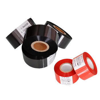 Black Width 35mm length 120M date code heat stamp foil for packing plastic bags фото