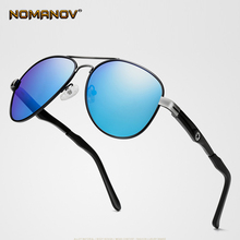 European American Classics Al-Mg Process Sun Glasses Polarized Sunglasses Custom Made Myopia Minus Prescription Lens -1 To -6