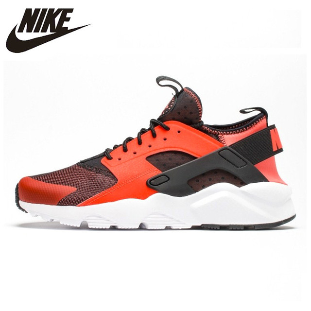 36c27bf73562 ... switzerland original new arrival official nike air huarache run ultra  mens and womens orange red running