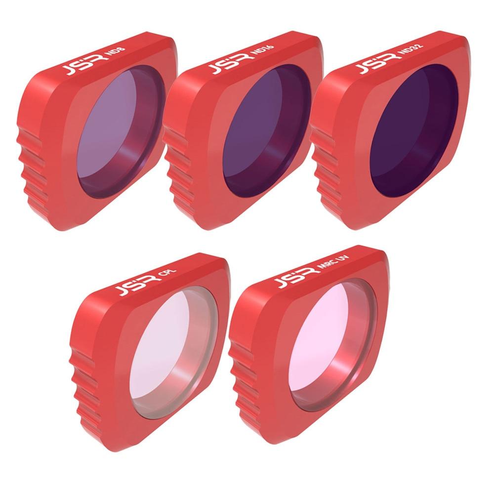 Camera Lens Filtres Pour DJI OSMO POCHE 5 pcs MCUV + CPL + ND8 + ND16 + ND32 Camera Lens filtres D.27