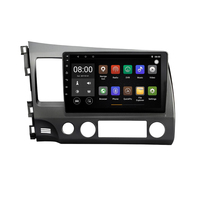 Android 9.1 Car DVD Player GPS Navigation for Honda Civic 2004 2009 DVD GPS Support Bluetooth 4G Radio MP4