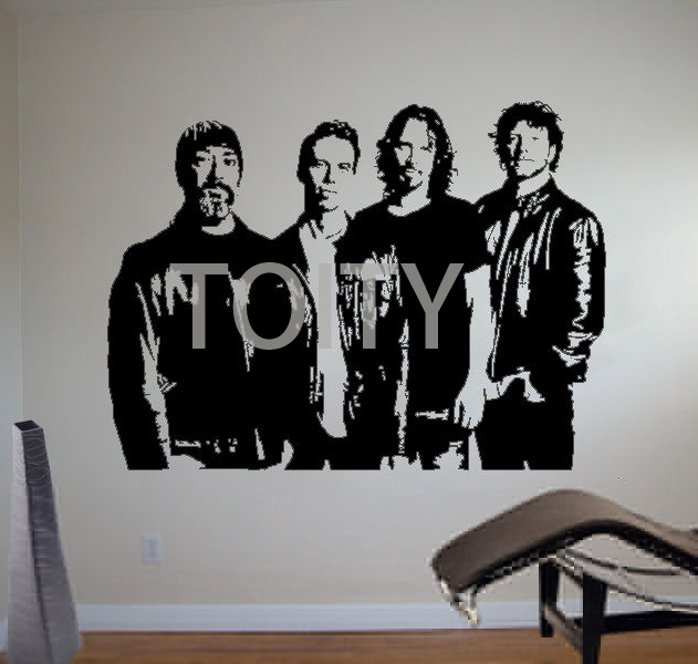 Soundgarden Wall Poster Sticker American Rock Band Vinyl ...