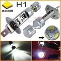 2 шт./лот 6x5 Вт Высокая Мощность Макс 30 Вт Супер Яркость H1 белый CRE Электронной ХВ-R5 СВЕТОДИОДНЫЕ Лампы Для автомобиля Противотуманные Фары, бесплатная Доставка