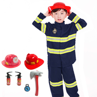 Primary And Secondary School Students Cosplay Costumes Role Playing Professional Worker Fireman Doctor Nurse Dress 1