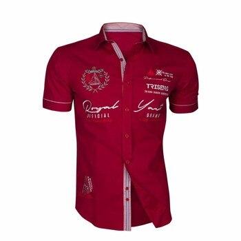 Zogaa 2018 Casual Shirts Oversized Cotton Good Designer Shirt Men Tops Men's Fashion Short Sleeve Shirts Letter Printed 1