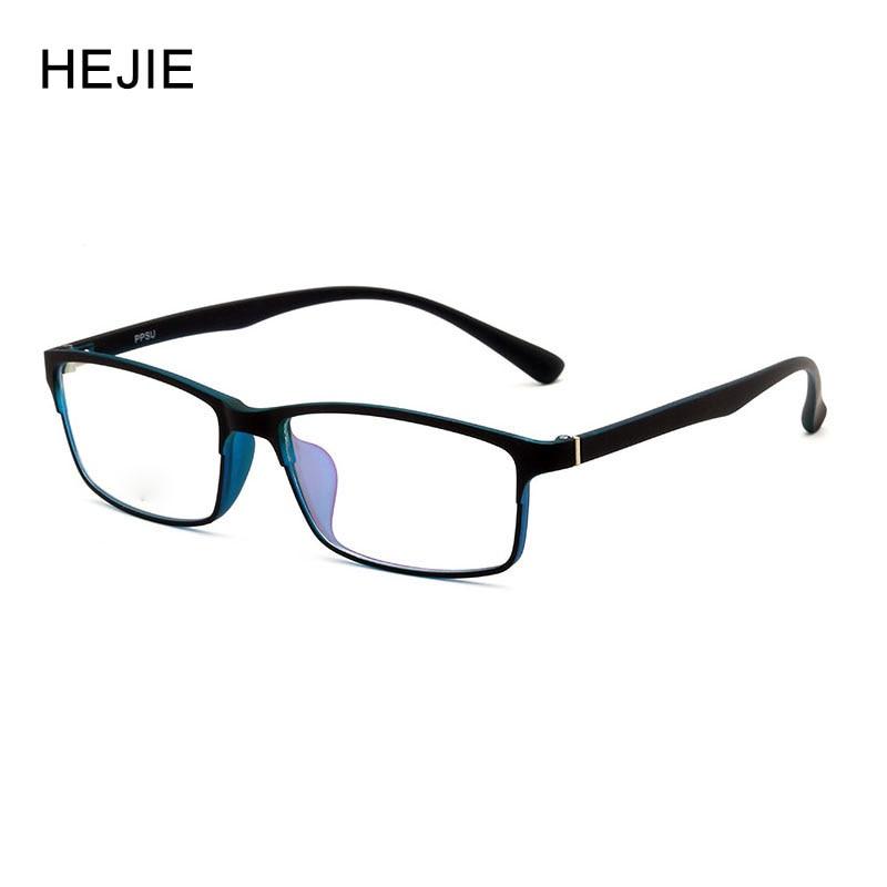 Fashion Men Women Acetate Eyeglasses Frames Brand ULTEM Full Frame Myopia Glasses Frame For Male Female Size 55-16-141 Y1017