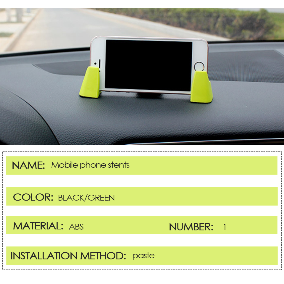 Atreus 3pcs Dashboard Car Mobile Phone Gps Holder Bracket Kit For Small Choyo Bag Smartphone Ampamp Package Included