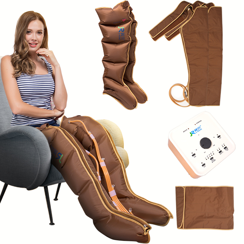 Electric Heating Leg Massage Air Pressure Massager Body Relax Relieve Fatigue Pressure Circulation Belt Wrap Thigh Arm Leg Belt