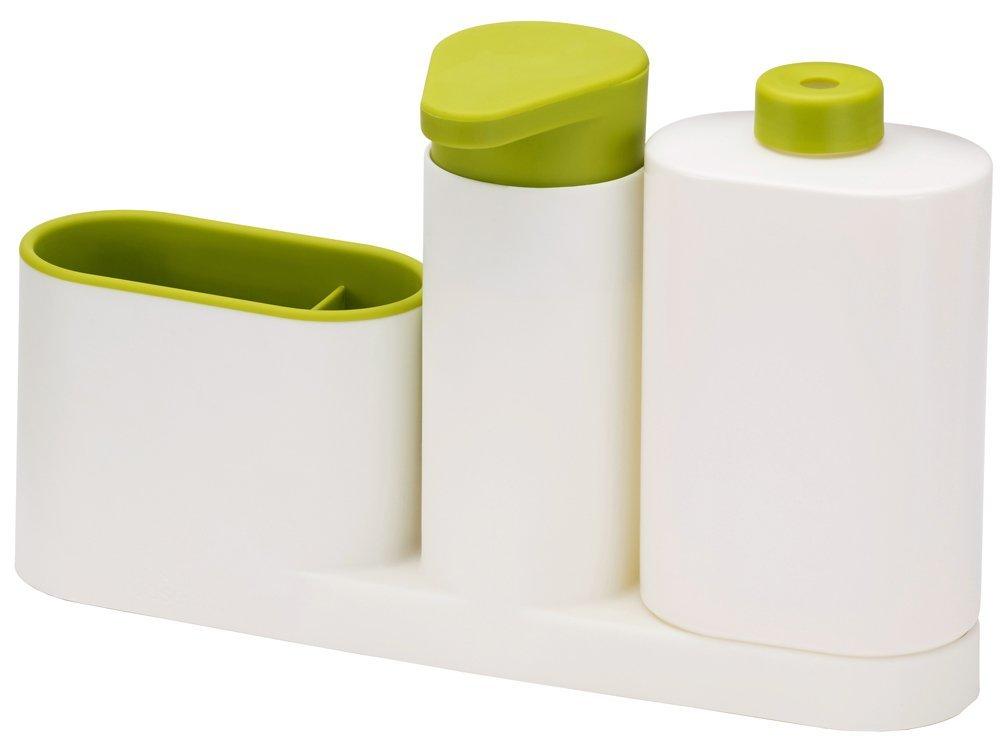 SinkBase Plus 3 piece sink tidy set Green