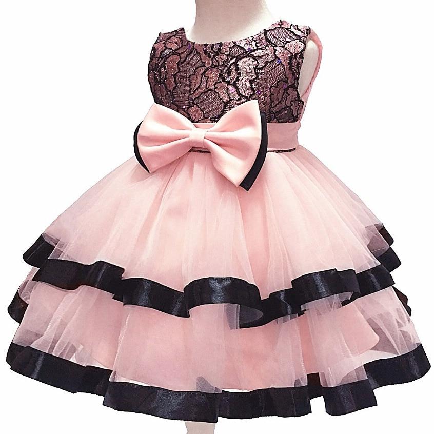 299992513b2 Детские Платье-пачка принцессы для малышей 1st на день рождения бальное  платье 1 год Детский