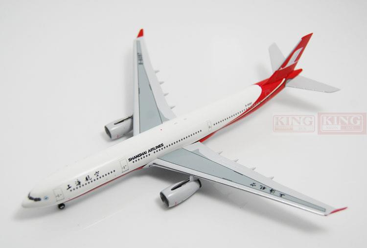 Aeroclassics Shanghai Airlines B-6097 1:400 A330-300 commercial jetliners plane model hobby spike wings xx4502 jc turkey airlines b777 300er san francisco 1 400 commercial jetliners plane model hobby