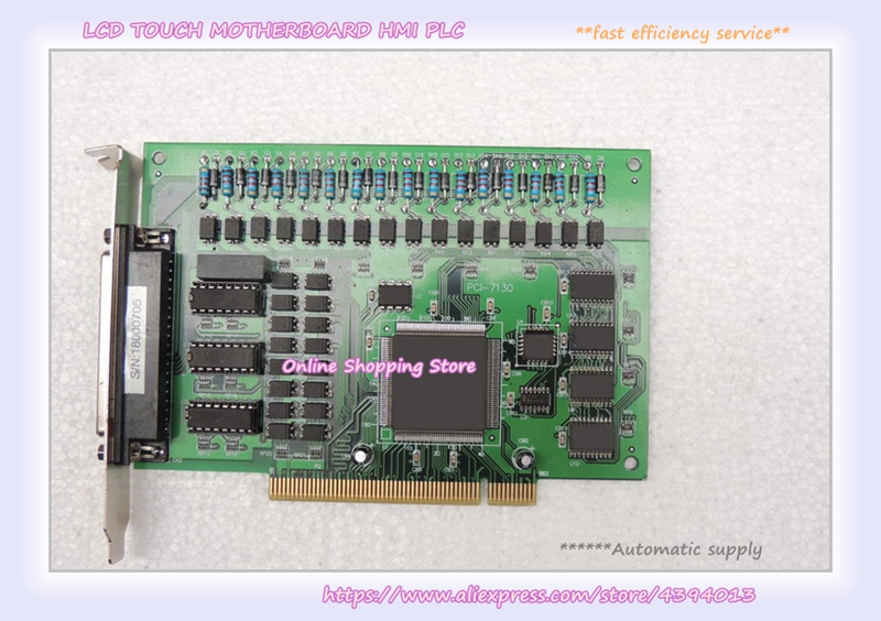 PCI-7130 industrial motherboard 100% tested perfect quality industrial motherboard base plate cbp 14p4 10 ias 4 pci adv an tech
