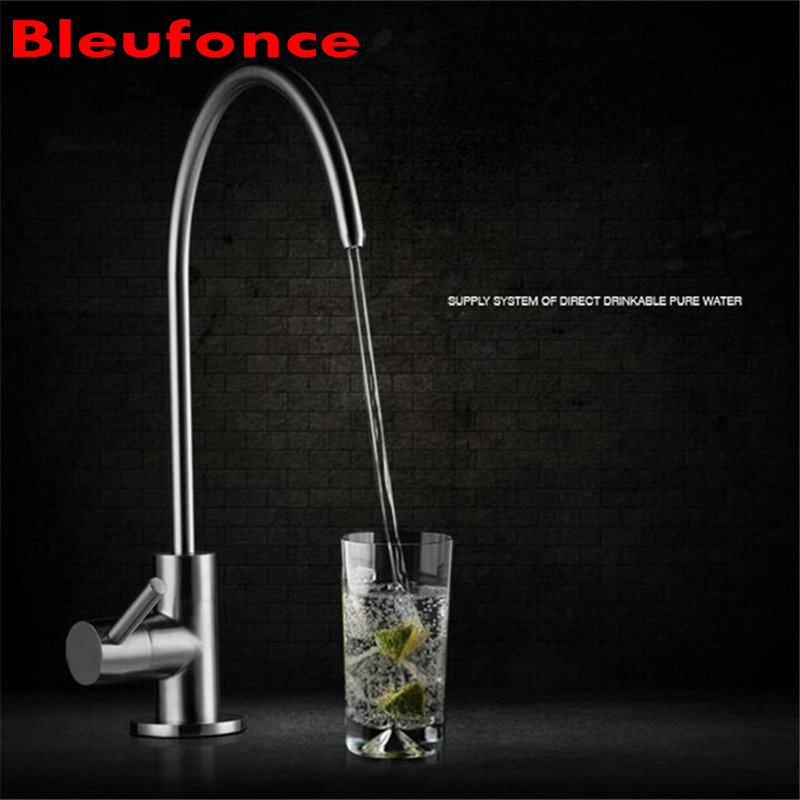 SUS304 Stainless Steel Direct Drinking Water Faucet Unleaded Pure Water Faucet Lead Free Tap NB19