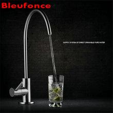 SUS304 Edelstahl Direkte Trinkwasser Wasserhahn Bleifreies Reines Wasser Wasserhahn Bleifreie Wasserhahn NB19