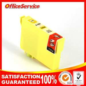 4PK compatible ink cartidge for T1284 yellow color tanks