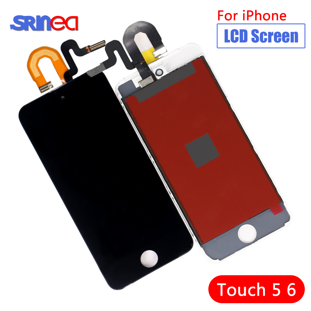 For Ipod Touch 5 5th LCD Screen Display Touch Digitizer Assembly Replacement Parts Screen For Ipod Touch 6 6th 4.0""