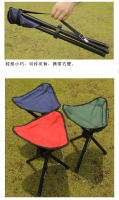 Outdoor Camping Big Size Tripod Folding Stool Chair Fishing Foldable Portable Fishing Mate Fold Chair High