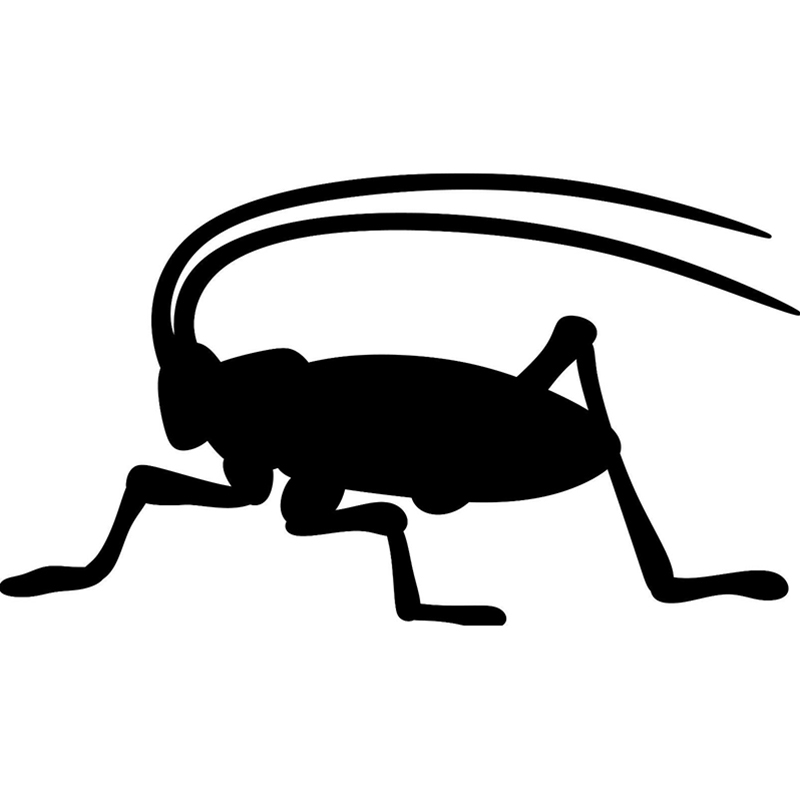 16*9.1cm Cricket Vinyl Phone Car Decal Sticker Cute And Interesting Fashion Sticker Decals Rear Window Car Sticker Body Decals image