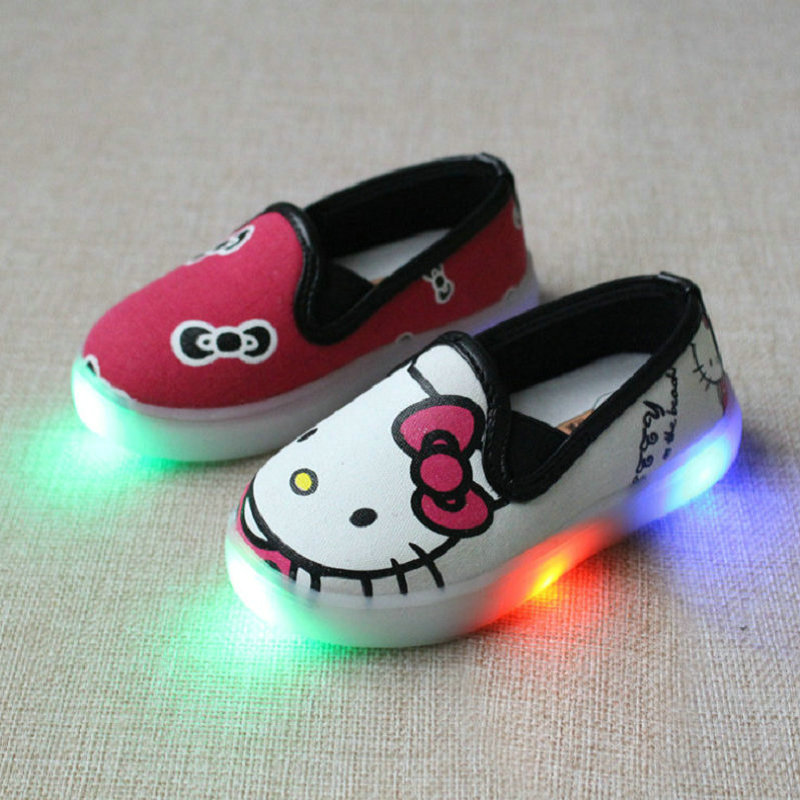 kids-LED-Sneakers-Boys-Mickey-Shoes-2016-New-Autumn-Children-canvas-shoe-KT-Cats-cartoon-baby-girls-sneaker-with-light-1