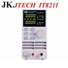 IT017 профессиональная цифровая Управление DC Электронные нагрузки ITECH IT8211 одноканальный Электронные нагрузки 60 В 30A 150 Вт приборная панель