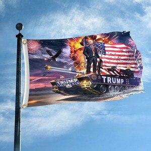 Hot 3x5 stóp Donald trump Flag 2020-zachowaj amerykę Great-select Donald na prezydent usa Banner