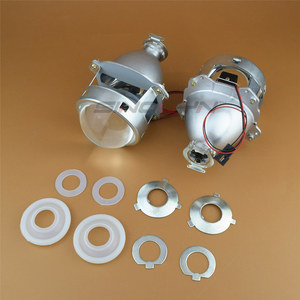 Image 5 - Sinolyn 프로젝터 헤드 라이트 렌즈 Bi xenon 미니 슈퍼 3.0 h1 HID 자동차 렌즈 H4 H7 자동차 조명 액세서리 튜닝 DIY