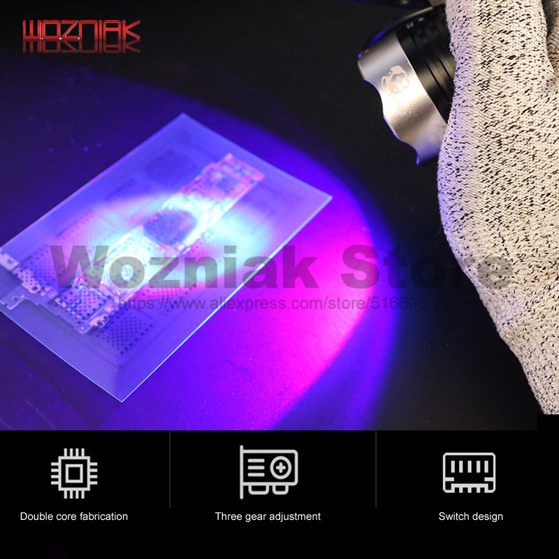 MECHANIC Industrial UV UV Green Oil Curing Lamp Multifunctional Ultraviolet Lamp Preheating Maintenance Of Motherboard Chip