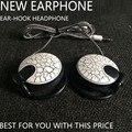 Protección para los oídos estéreo auricular universal de 3.5mm de lujo botón de los auriculares para el iphone samsung xiaomi htc mp3 mp4 con el mic clear bass