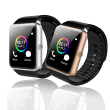 Купить с кэшбэком GT08 Smart Watch Fitness Tracker European / Asian versions Dial/Answer SIM/TF Card Sport Bracelet For Android IOS VS Q18 DZ09 A1