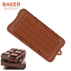 Пекарский депо силиконовая шоколадная форма для хлеба кондитерский инструмент для выпечки, силиконовая форма для вафель Конфета Желе торт ...