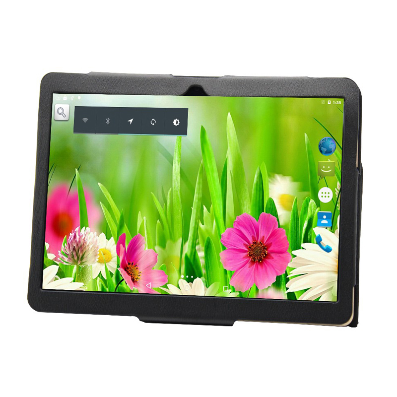 IBOPAIDA 2017 Free Shipping ANDROID 6.0 IPS 9.7 Inch PHONE TABLET PC DUAL SIM 3G  16GB GPS Bluetooth Free Cover Gift /black Colo