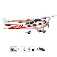 Cessna 182 PNP EPO пена 1410 мм aeromodelling хобби модель самолета RC пульт дистанционного управления Самолет электрическая модель самолета aeromodelo