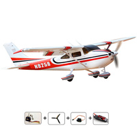 Free Shipping 2 4Ghz Remote Control Cessna 182 PNP EPO Foame 1410mm With Motor ESC Servo