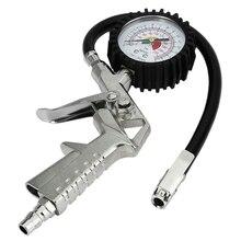 Манометр для автомобильных шин для автомобилей, мотоциклов, внедорожников, насосы для инфлятора, инструменты для ремонта шин, пистолет для пневматического компрессора