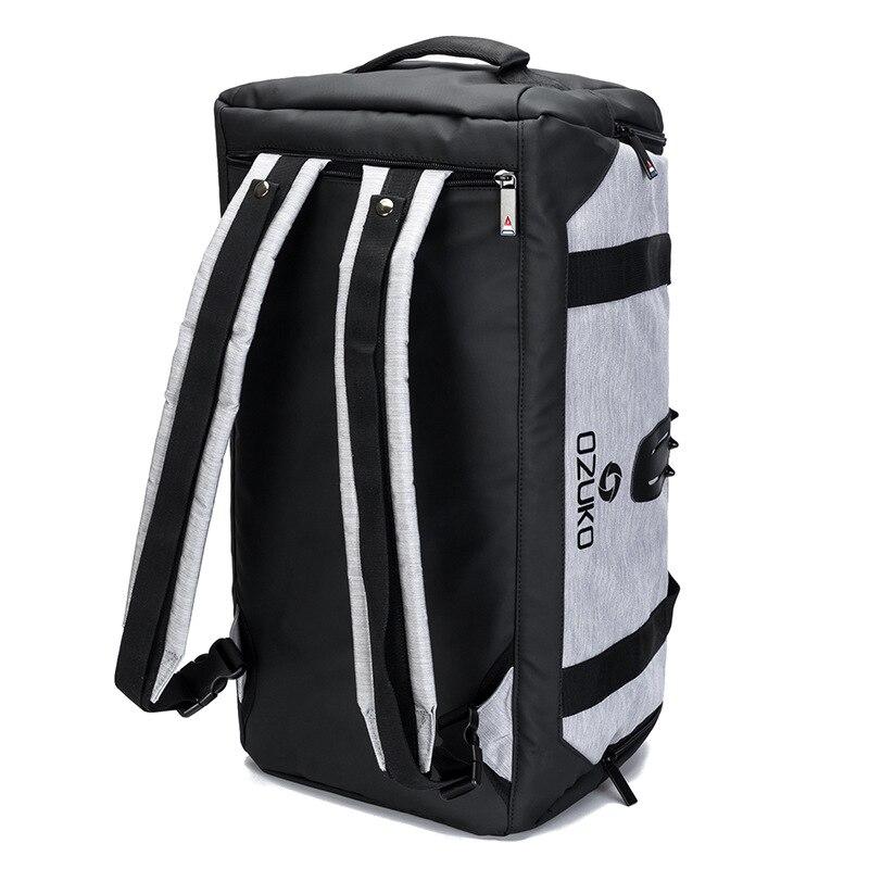 OZUKO мужской рюкзак непромокаемые дорожные сумки большой емкости багажная сумка вещевой мешок Оксфорд мужской досуг ручная сумка модная сум...
