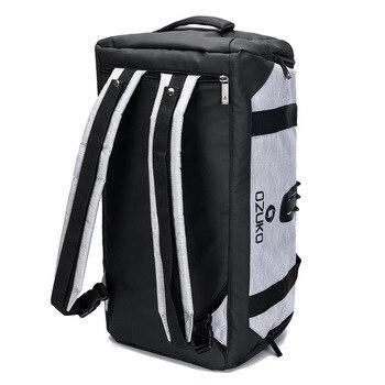 0dcba5da82c7e OZUKO Erkekler Sırt Çantası Seyahat Su Geçirmez Seyahat Çantaları Büyük  Kapasiteli Bagaj Çantası Spor Çantası Oxford Erkek Eğlence el çantası Omuz