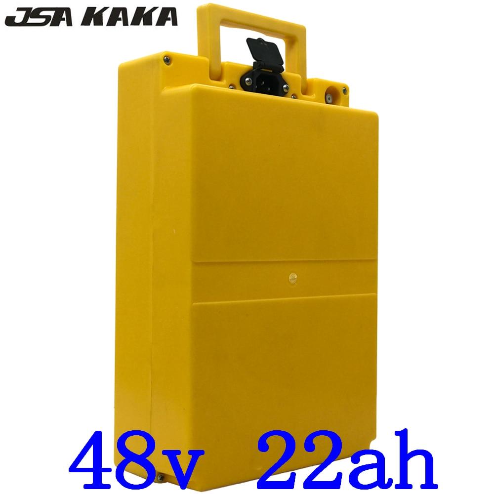 1000 W 48 V Lithium ion Accu 48 V 22AH Elektrische scooter batterij 48 V 22ah ebike Batterij met 30A BMS en 54.6 V lader|Elektrische Fiets batterij|sport & Entertainment - title=