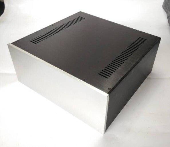 B-012 QUEENWAY 4318 full aluminum power amplifier case full aluminum Chassis 430mm*180mm*410mm 430*180*410mm