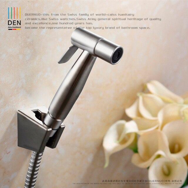 Fu washer 304 stainless steel wire drawing pressure spray gun toilet ...