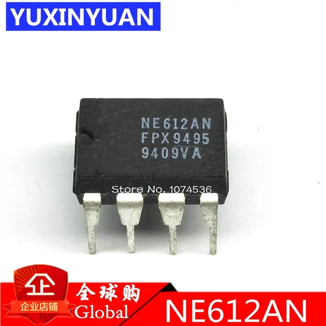 US $8 06 5% OFF|10PCS/LOT NE612AN NE612 SA612AN SA612 DIP8 Double balanced  mixer and oscillator-in Integrated Circuits from Electronic Components &
