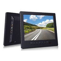 2017 New 8 Inch Professional Screen Monitor With TV VGA AV Input Earphone Free Shipment Black