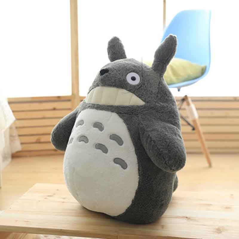Image 2 - 27 55cm Cute wedding press doll children birthday girl Kids Toys Totoro doll Large size pillow Totoro plush toy doll-in Stuffed & Plush Animals from Toys & Hobbies